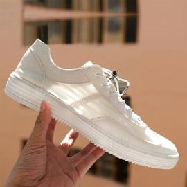 男士小白鞋2020新款夏男鞋子潮流韩版百搭透气薄款夏季白色板鞋男