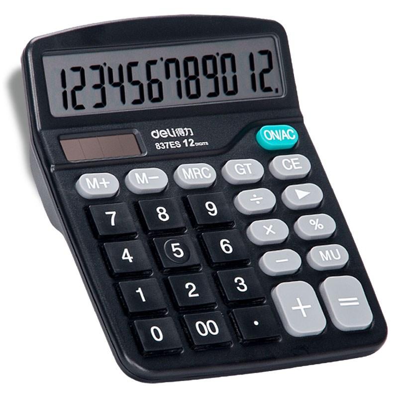 得力计算器记算器学生用计算机器办工用品考试大学记算器新款小计12.29元包邮