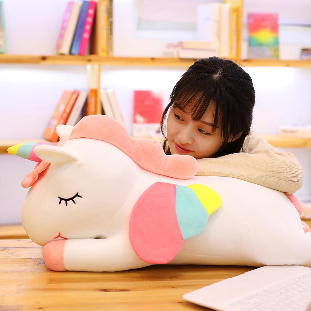 限6000张券网红独角兽毛绒玩具公仔可爱抱枕