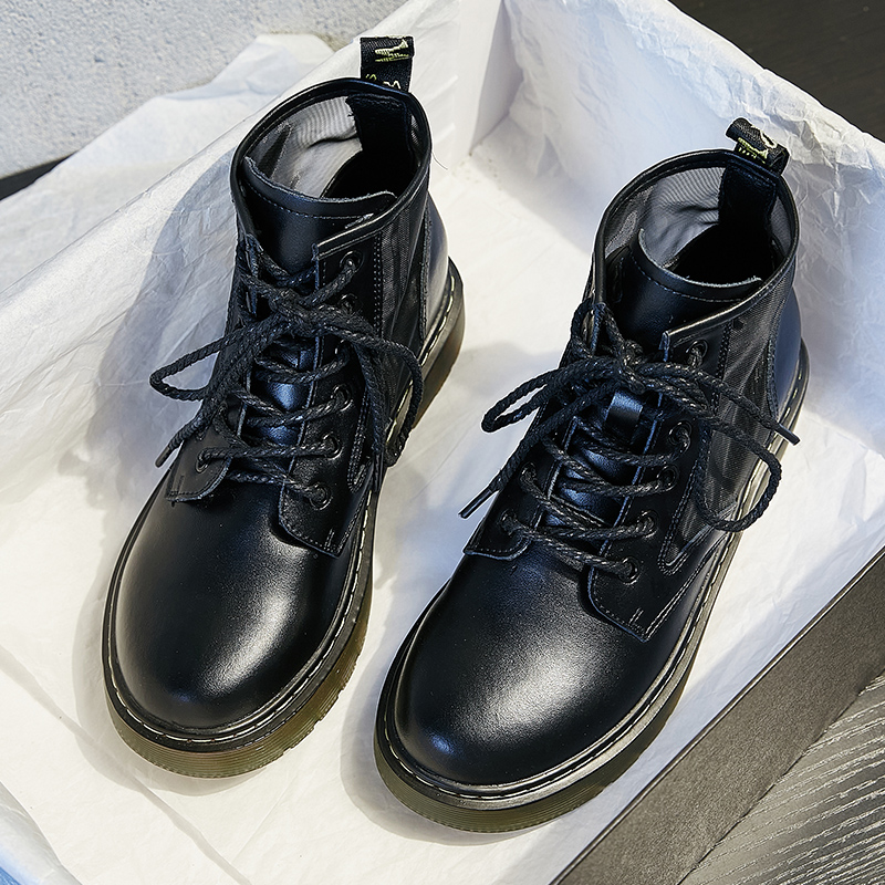 Dr Martin boots womens summer thin 2020 new breathable leather boots