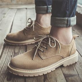 马丁靴男士春季潮流英伦百搭工作鞋