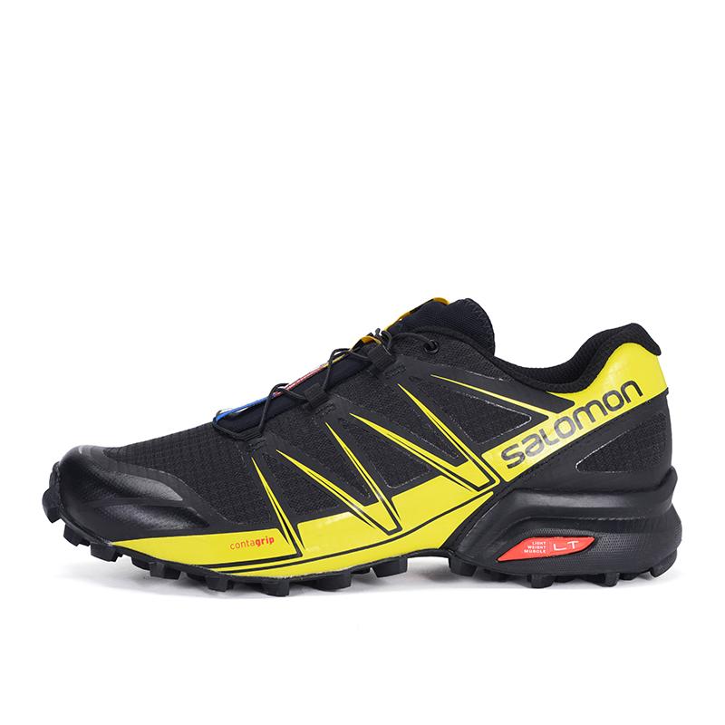 Salomon 萨洛蒙特惠户外越野跑鞋男稳定经典款 SPEEDCROSS PRO M