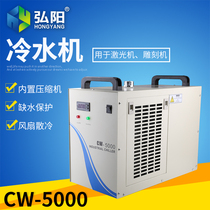 Industrial cold water CW5000 5200 engraving machine spindle cooling tank circulating machine laser cutting machine chiller