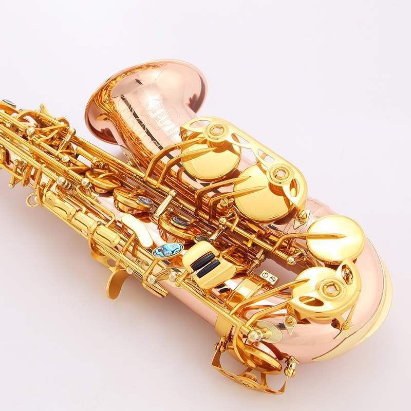 高档豪威尔乐器降e调中音萨克斯风/管乐器802红铜磷铜初学考级演