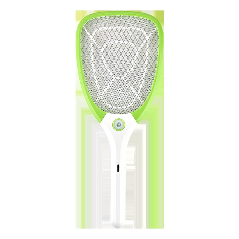 榄菊电蚊拍USB充电式家用强力灭蚊驱蚊苍蝇拍打蚊子的电拍文神器