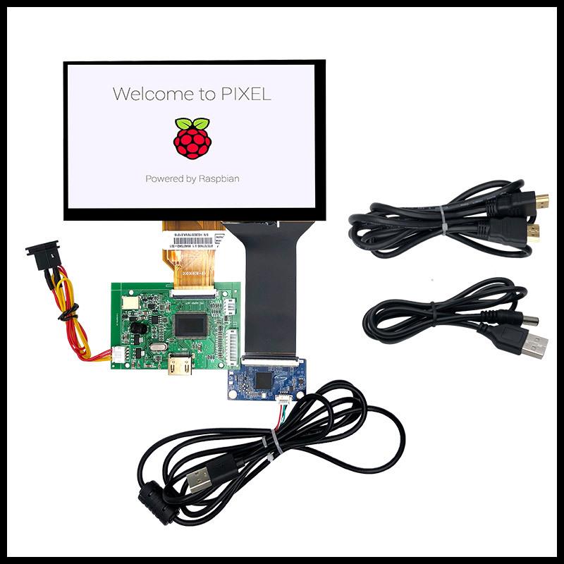 7寸8寸9寸10.1寸车载监控液晶屏显示器HDMI VGA AV万能驱动板套件