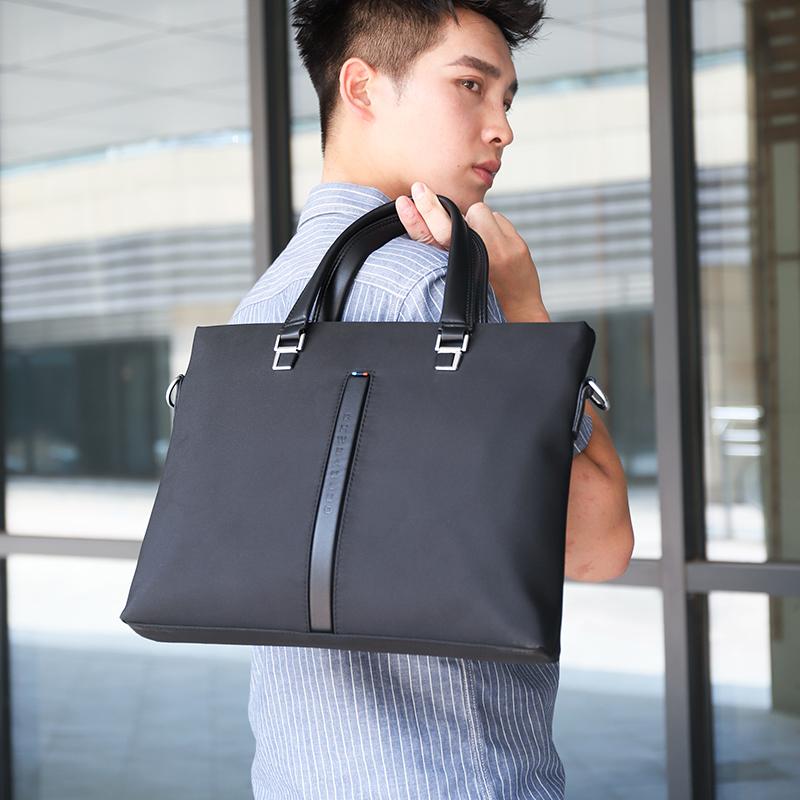 Bag man Oxford business simple Korean handbag leisure man briefcase canvas A4 document handbag
