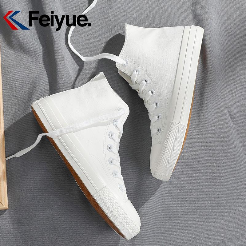 feiyue飞跃高帮春季新款休闲帆布鞋评价如何