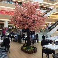 Lang Cedel копия Настоящее вишневое дерево желающих дерево свадебные украшения дерево поддельные вишневое дерево большой отель торговый центр украшения персик