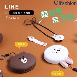 创意卡通韩国可爱充电宝个性公仔超萌少女迷你快充移动电源便携薄