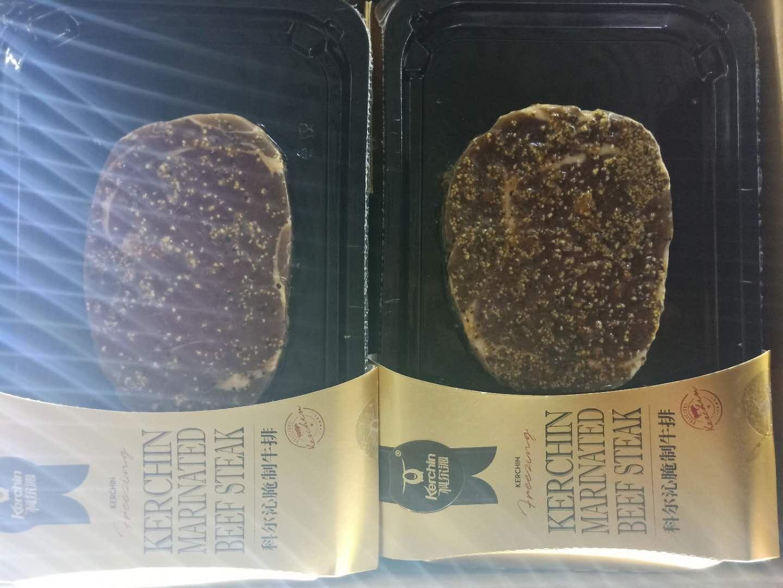 科尔沁 原切贴体海盐眼肉牛排新鲜内蒙古牛肉170克6盒顺丰包邮12月02日最新优惠