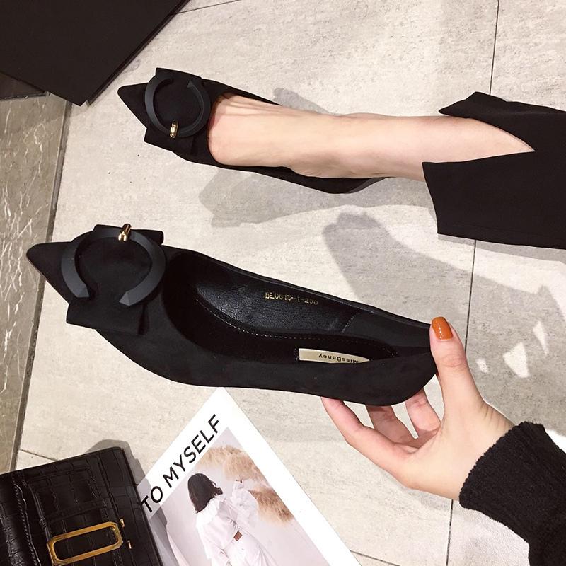 低跟单鞋女2020新款3CM猫跟黑色高跟鞋女百搭细跟小跟法式少女鞋