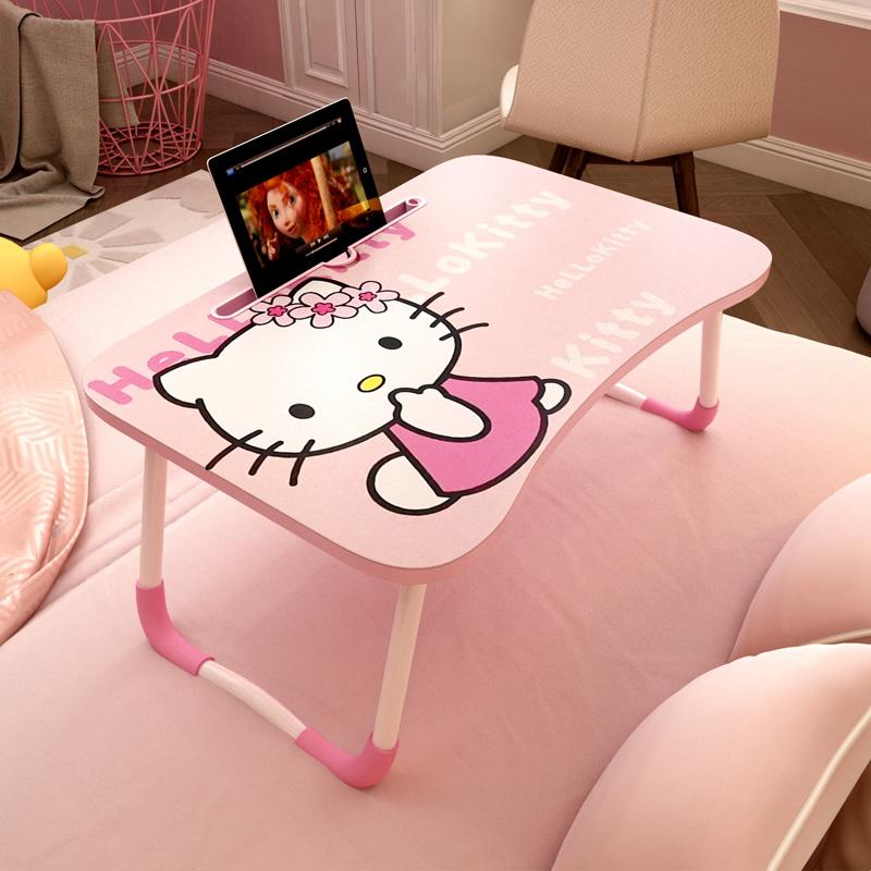 床上小桌板宿舍上铺卡通折叠电脑桌