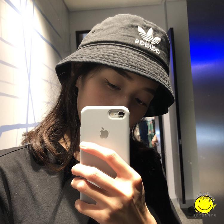 热销71件假一赔十adidas三叶草2019夏季新款草男帽