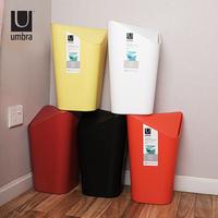 Угольный ковш Umbra корпус Пресс-кольцо квадратная ванная кухня гостиная спальня хозяйственный мусор может встряхнуть корпус ins