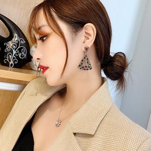 東大門大牌耳環2020新款潮復古名媛韓國氣質網紅個性時尚耳飾爆款
