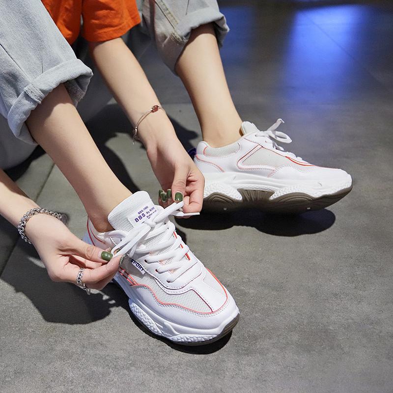 百搭2019新款夏季透气潮鞋运动鞋49.80元包邮