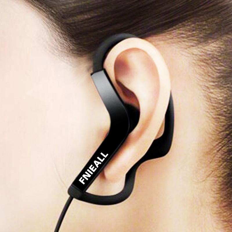 挂耳式耳机运动跑步头戴耳挂式有线耳麦不伤耳重低音带麦不入耳适用于oppo苹果手机vivo笔记本电脑通用女生