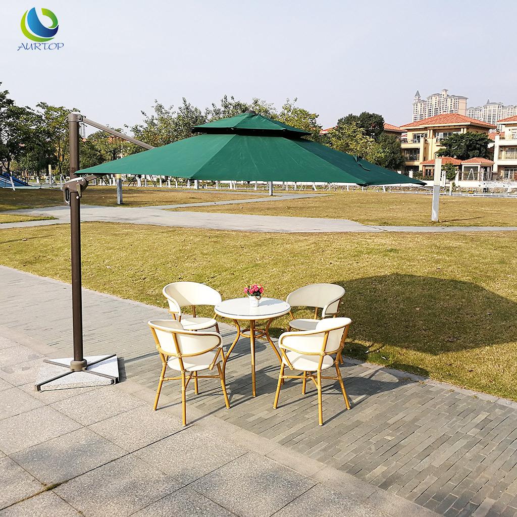 澳朵户外桌椅庭院阳台休闲桌椅三件套咖啡厅桌椅组合室外露台桌椅
