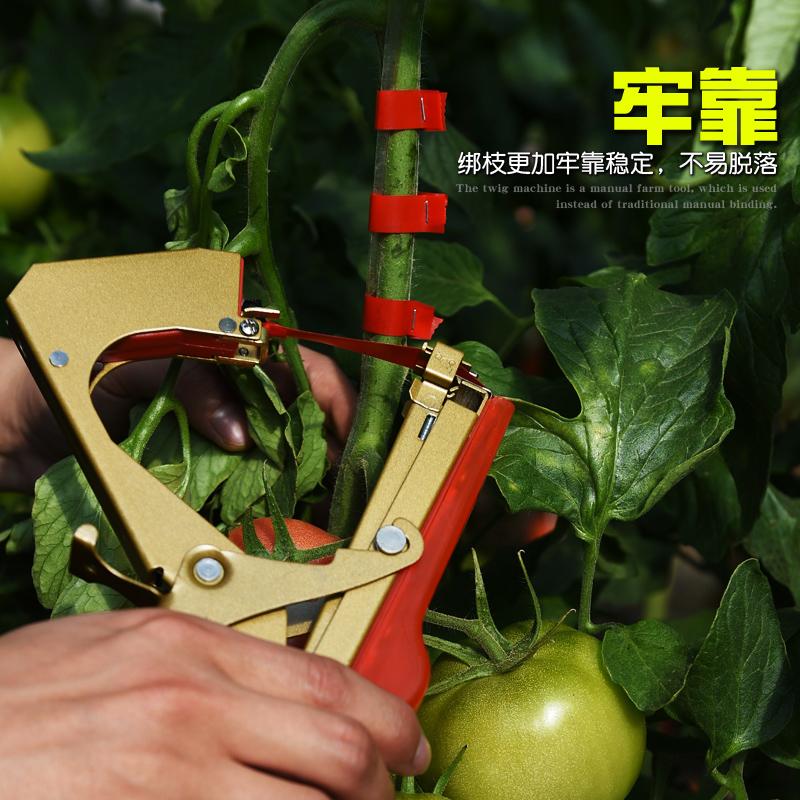 新款绑枝机绑蔓枪葡萄绑枝机西红柿圣女果黄瓜绑枝器捆绑枝苗木