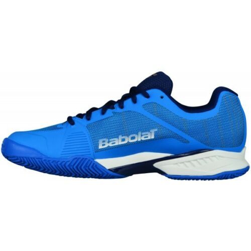 Buy Babolat mach I dark blue mens tennis shoes for comfort, ventilation and wear resistance