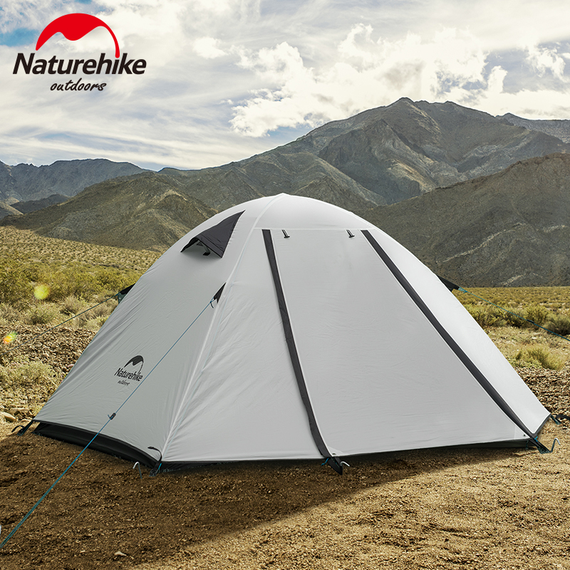 Naturehike挪客户外帐篷露营2人3-4人便携式沙滩防晒野营加厚防雨