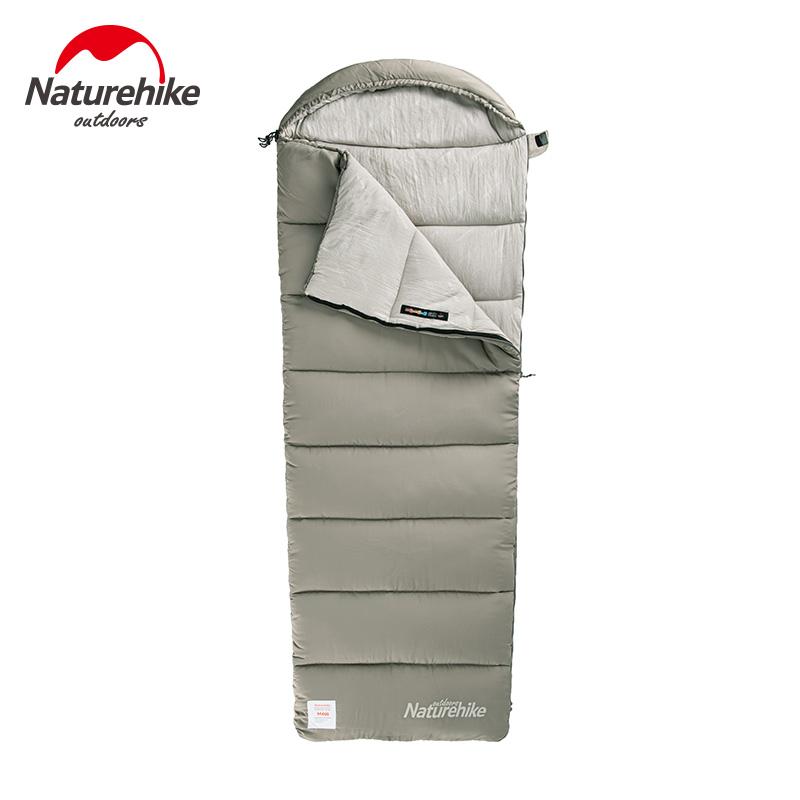 nh挪客信封带帽棉睡袋大人户外露营单人便携式可拼接双人帐篷睡袋