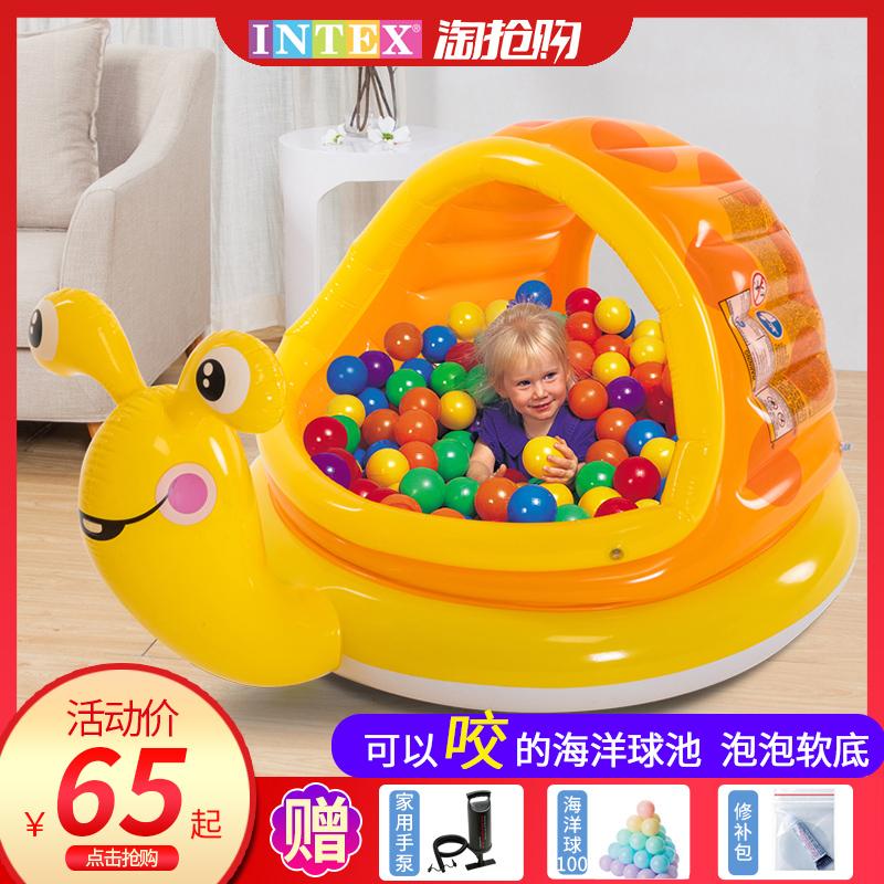 11-06新券intex海洋球池室内宝宝波波球池