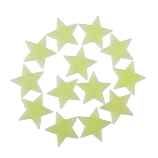 Hot Sale 100 Pcs Home Wall Glow In The Dark Star Stickers De