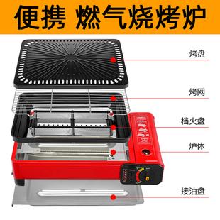 韩式卡式便携式户外烤炉架家用烤架