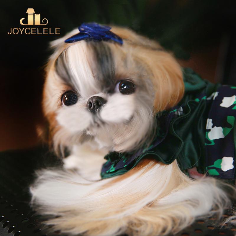 Joycellele dog clothing jlpets pet clothing thin dress small and medium sized dog clothing