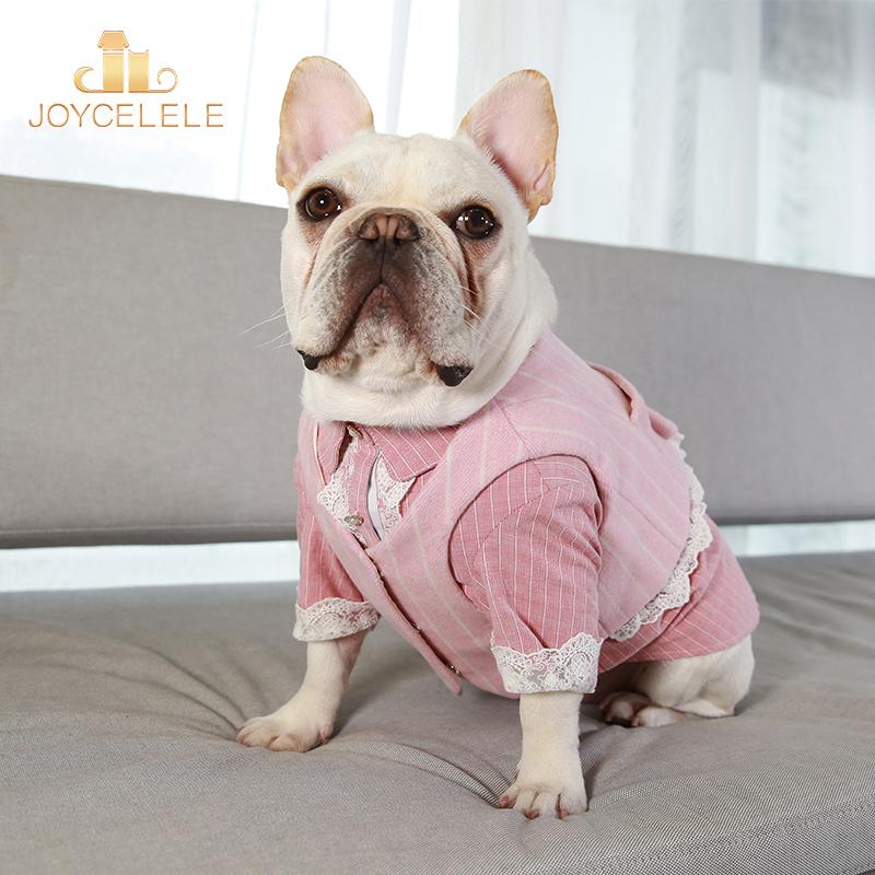 Joycellele dog clothing jlpets pet clothing thin fadou clothing suit two piece suit