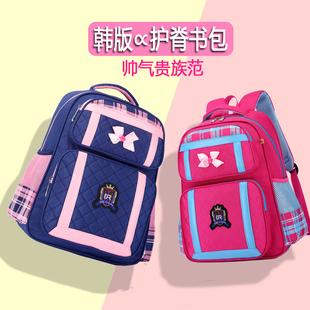 超轻书包小学生女童一二年级三到六女生四五韩版 儿童2021新款 减负