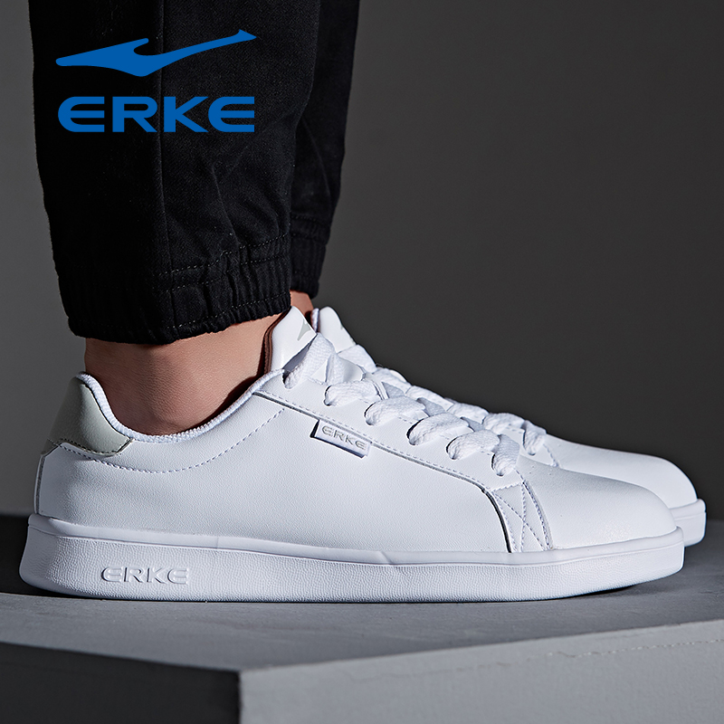 Hongxing Erke life tennis shoes mens autumn new antiskid wear resistant board shoes running shoes sports shoes comprehensive training shoes