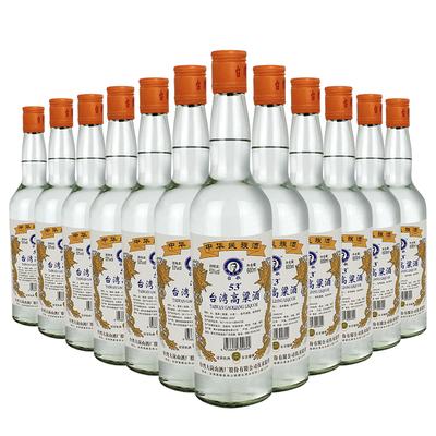台湾高粱酒整箱特惠12*600ml白酒整箱特价