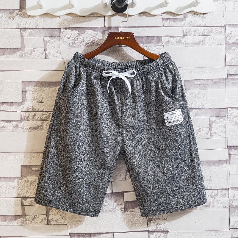 Shorts men's summer ice silk pants loose casual pants summer trend beach sports pants men's big underpants
