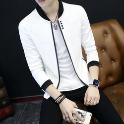 夏季薄款外套男士防晒夹克学生休闲修身青年韩版男装运动外衣服潮