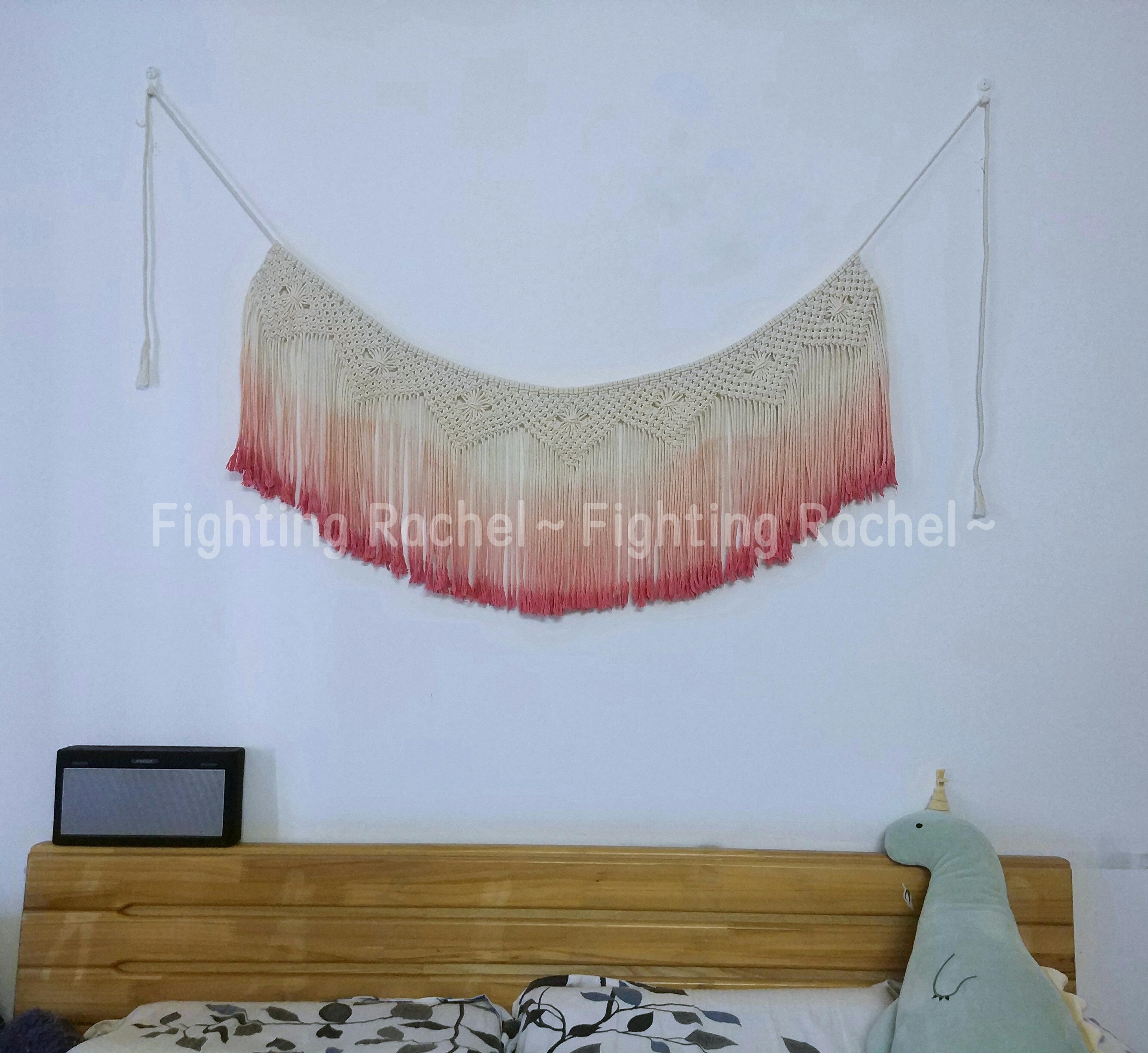 Арбуз красный богемия прикроватный вешать одеяло настенный нордический ручной небольшой свежий брелок литература и искусство ветер