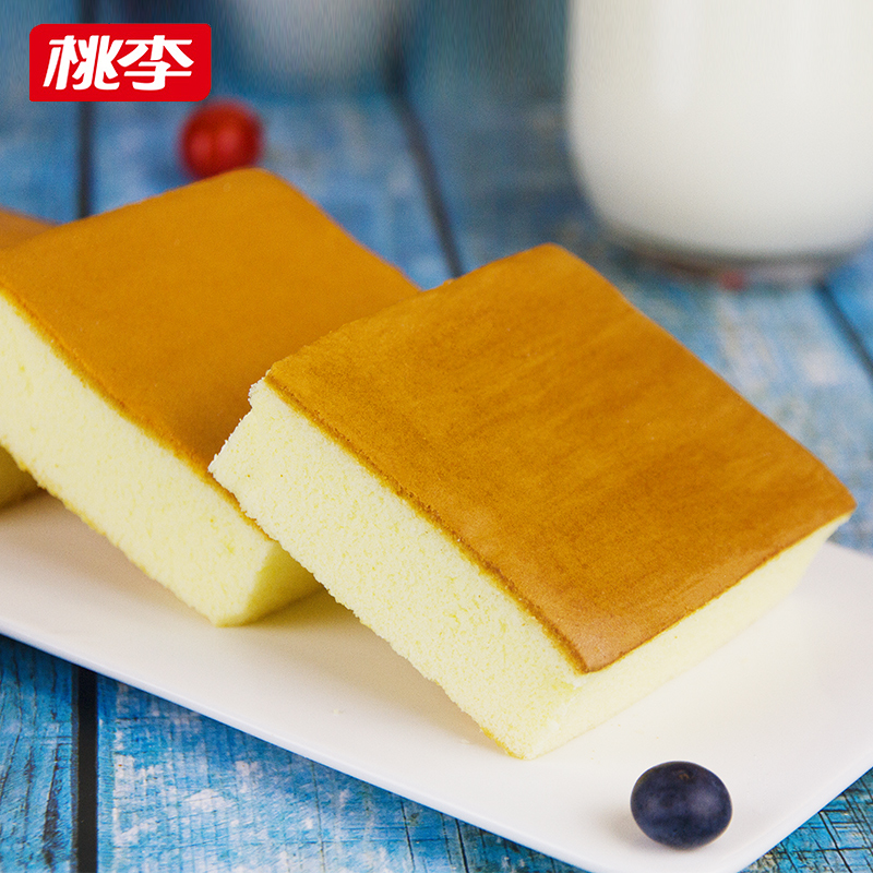 桃李多口味网红纯蛋糕点720g营养鸡蛋糕早餐零食网红小吃吐司面包