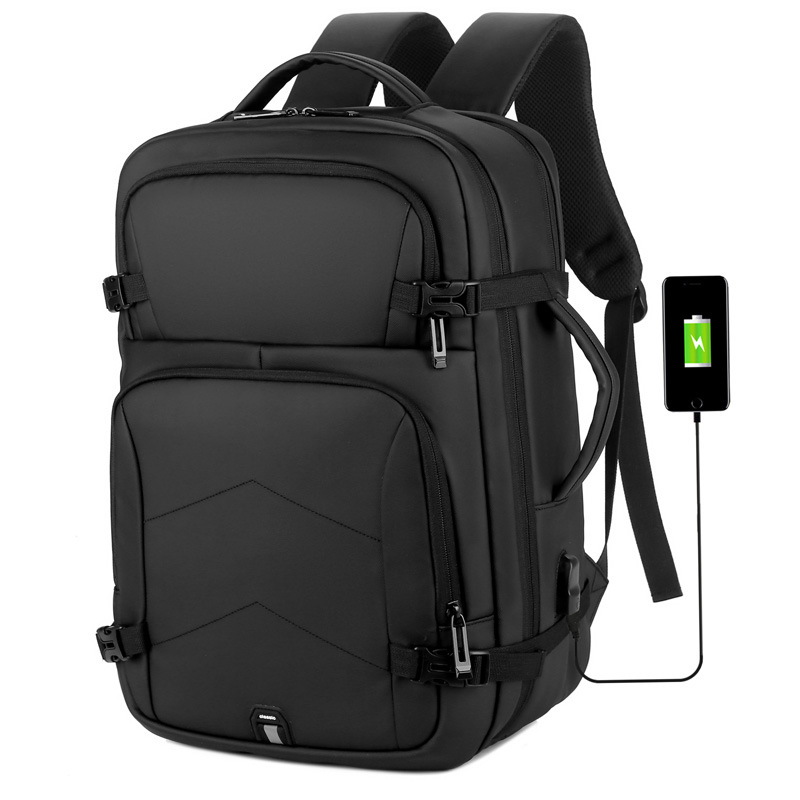 Large capacity travel business backpack custom waterproof backpack mens multifunctional student laptop bag