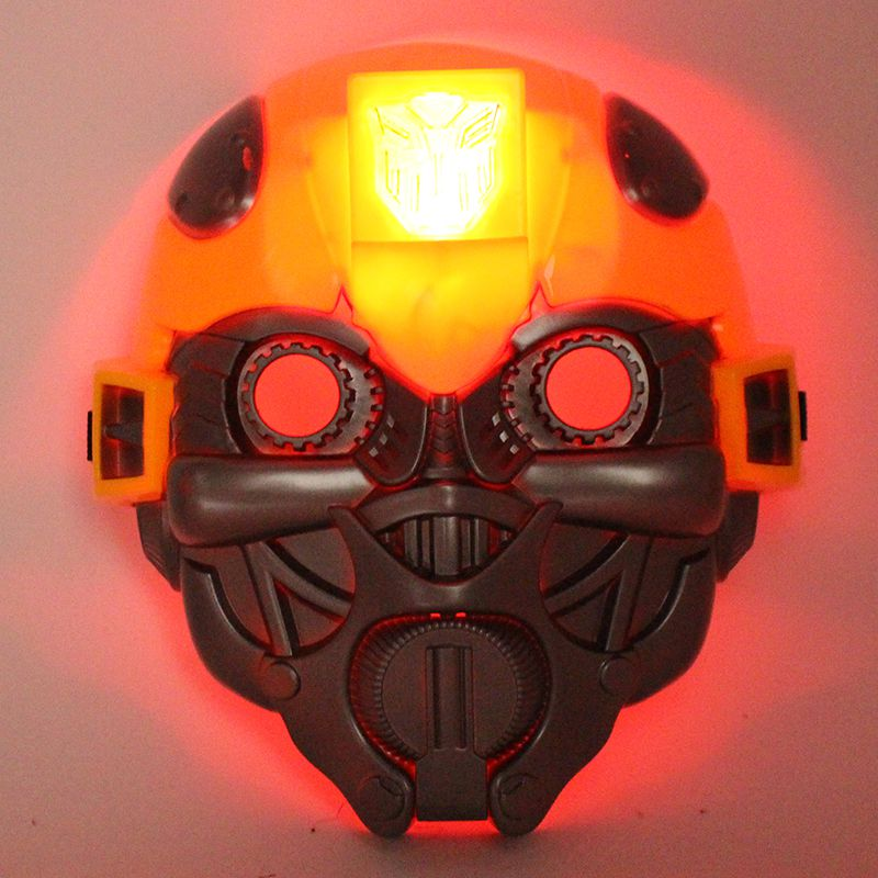 子供の日のプレゼントに光る仮面アニメ「スパイダーマンアイアンマン」のリーダー雷神緑巨人
