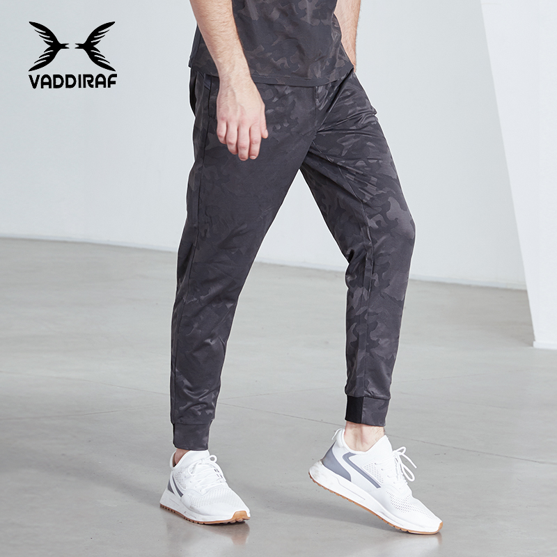 Sports pants mens camouflage spring and summer running fast dry training basketball football fitness mens neckband