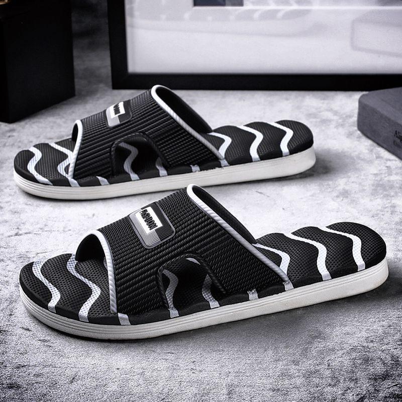 夏外穿2021新款韩版潮流防滑沙滩鞋使用评测分享