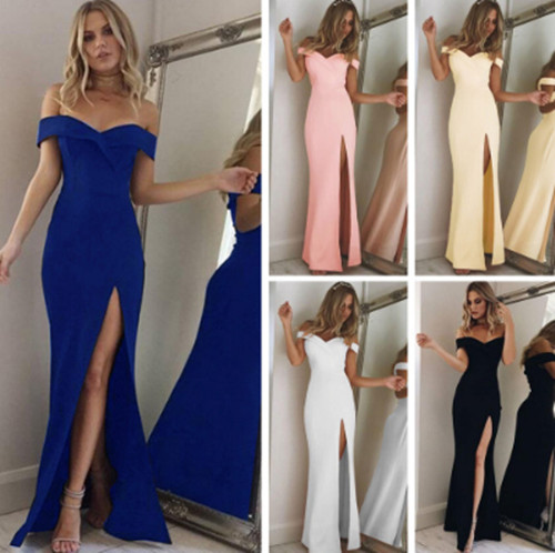晚会礼服连衣裙Lady Long Dress Sexy Evening party gown women