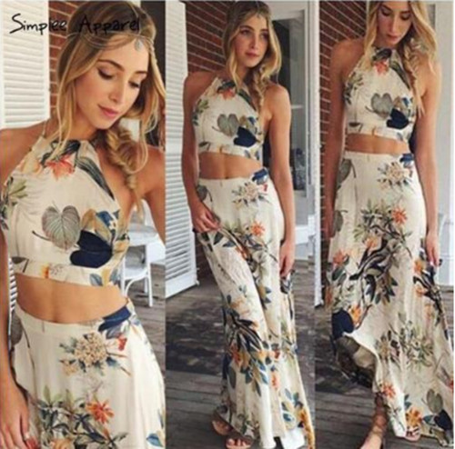 Summer Long Dress For Women Maxi Sexy Ladies Party Dresses