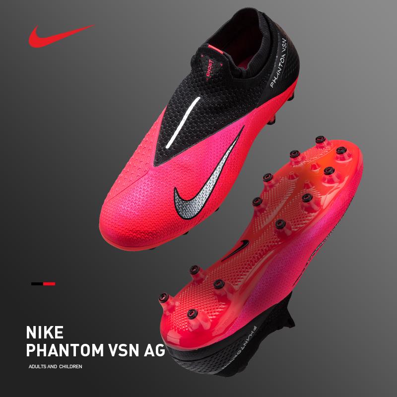 耐克足球鞋男暗煞PHANTOM 2 AG-PRO短钉训练比赛NIKE足球鞋CD4160
