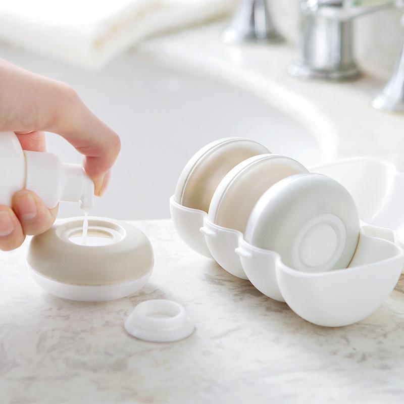 抖音同款旅行分装瓶套装乳液化妆品空瓶必备便携洗漱包女旅游用品