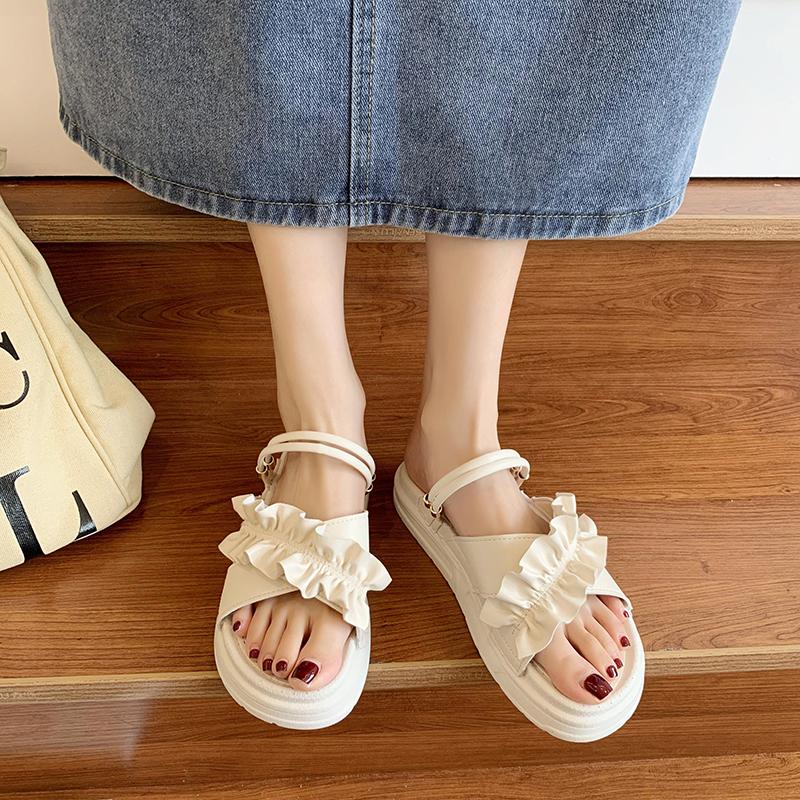 拖鞋女外穿夏季2021年新款时尚百搭网红爆款仙女超火凉拖鞋ins潮