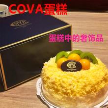 网红蛋糕 国内代购上海 COVA 招牌芒果cova蛋糕  生鲜速配发全国