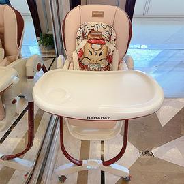 法国hagaday 宝宝餐椅多功能饭桌婴儿椅子家用餐桌椅儿童吃饭座椅图片